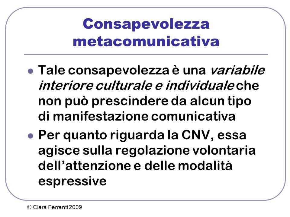 Consapevolezza metacomunicativa