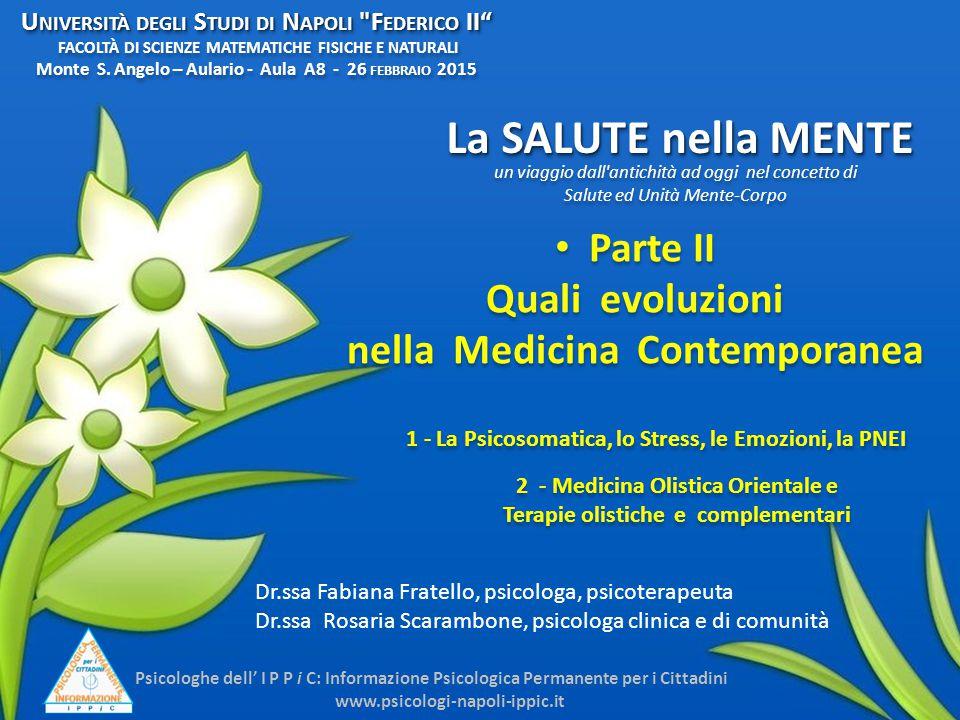 Università degli Studi di Napoli Federico II FACOLTÀ DI SCIENZE MATEMATICHE FISICHE E NATURALI Monte S. Angelo – Aulario - Aula A8 - 26 febbraio 2015