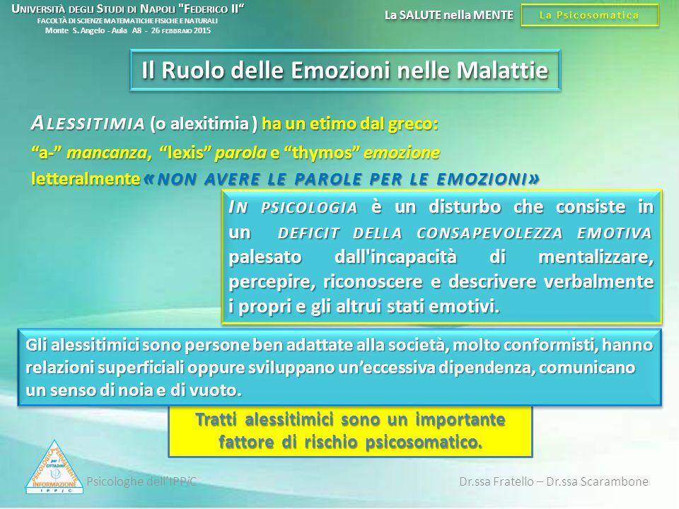 Il Ruolo delle Emozioni nelle Malattie
