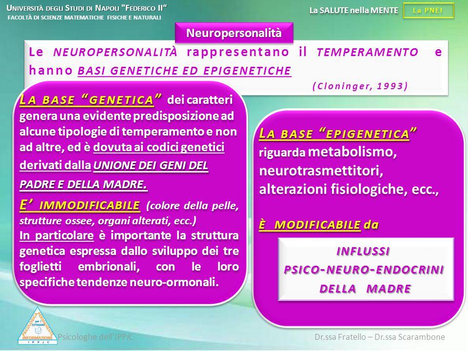 influssi psico-neuro-endocrini della madre