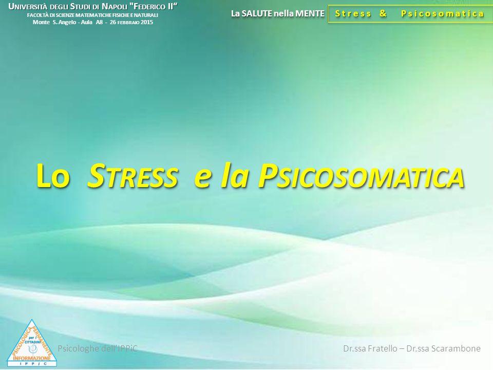 Stress & Psicosomatica