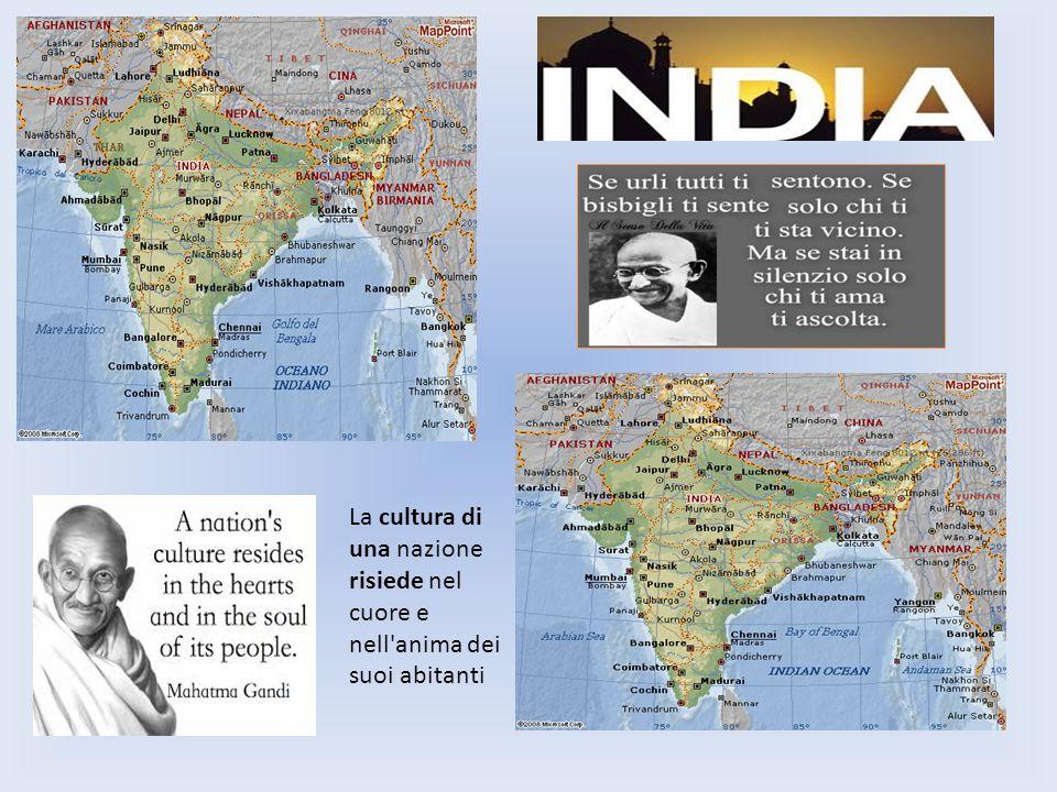 La cultura di una nazione risiede nel cuore e nell anima dei suoi abitanti