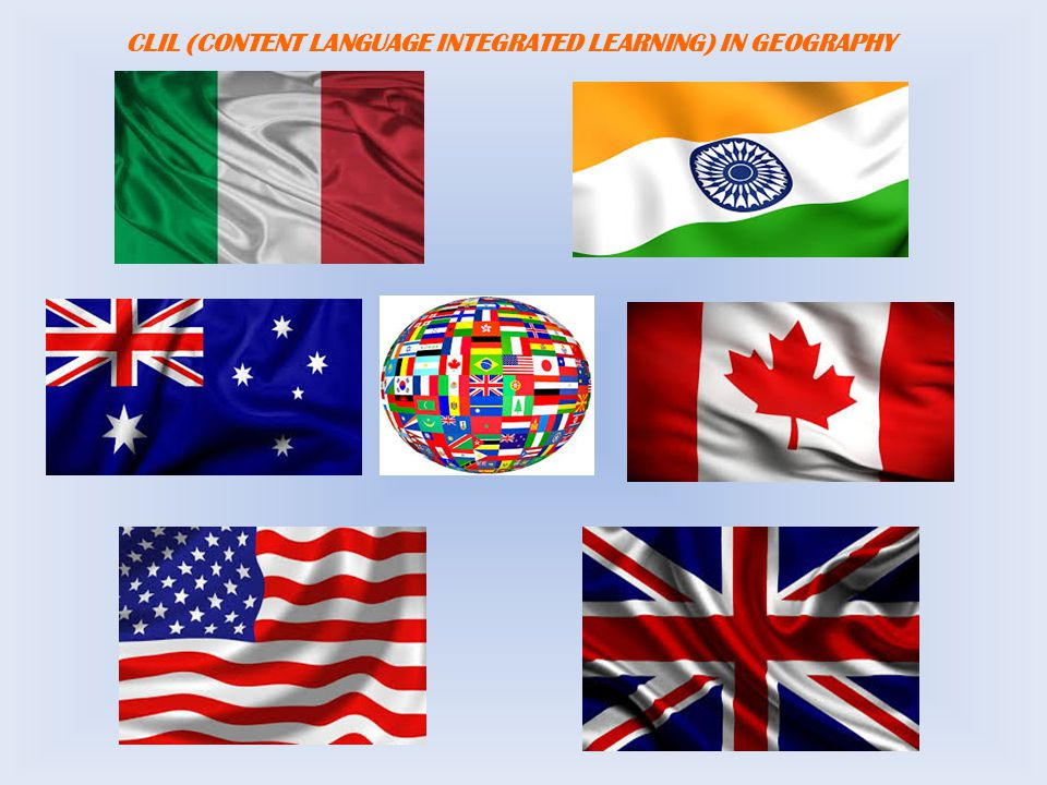 CLIL (CONTENT LANGUAGE INTEGRATED LEARNING) IN GEOGRAPHY
