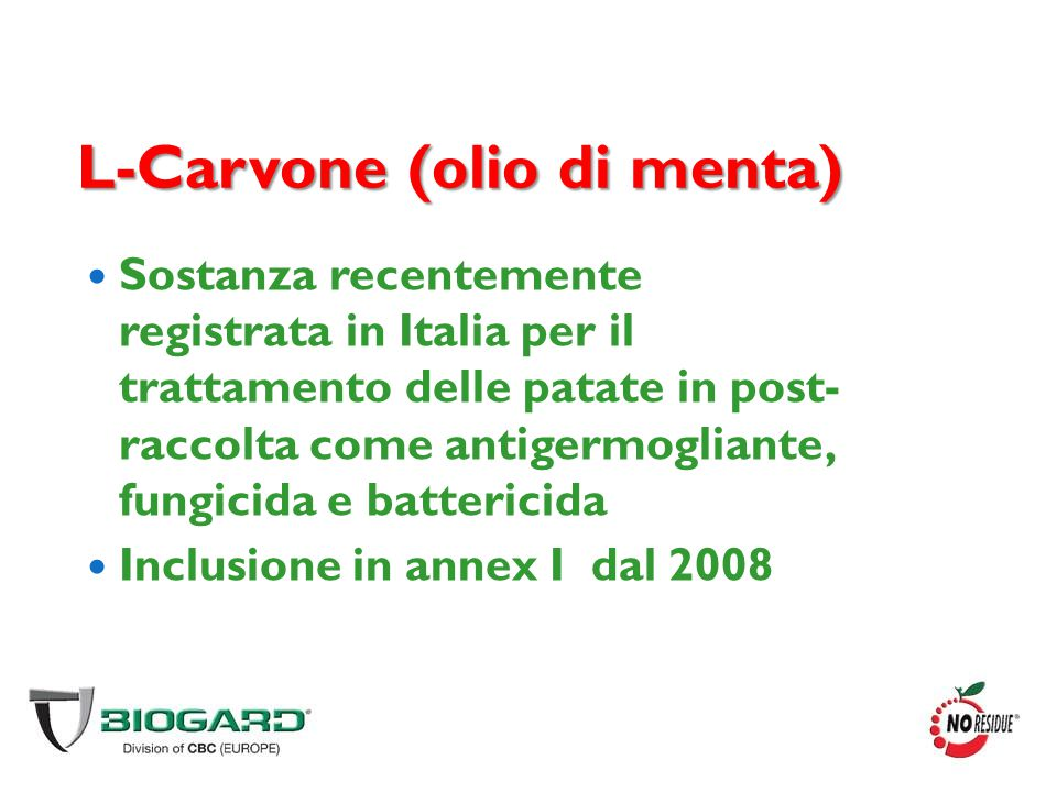 L-Carvone (olio di menta)