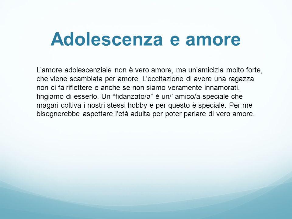 Adolescenza e amore