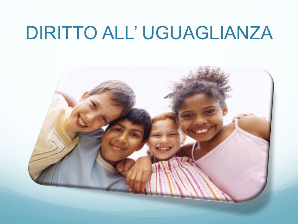 DIRITTO ALL' UGUAGLIANZA