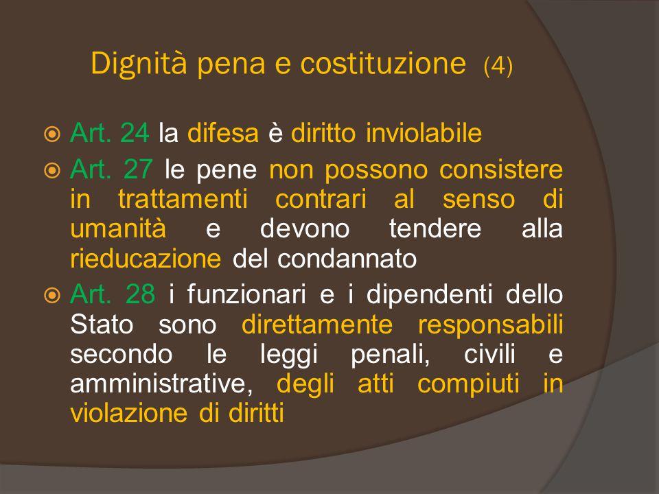Dignità pena e costituzione (4)