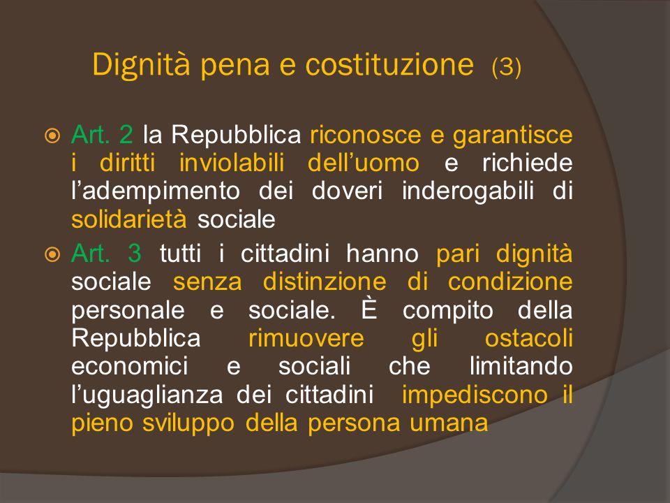 Dignità pena e costituzione (3)