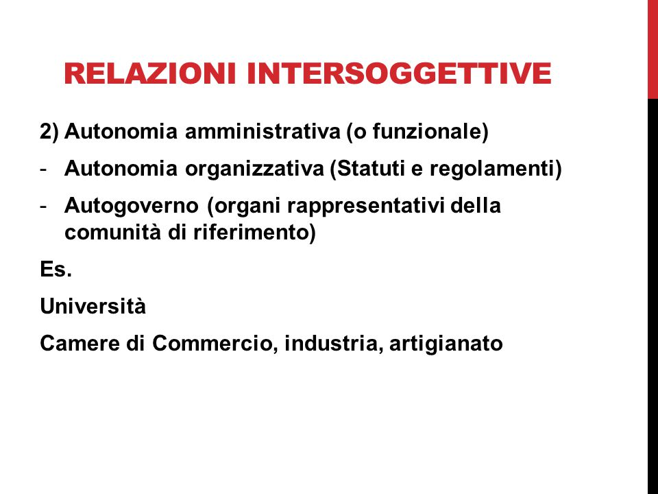 Relazioni intersoggettive