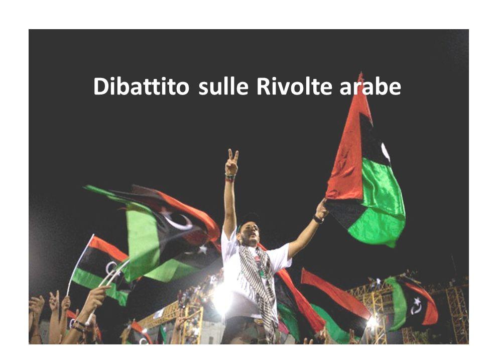 Dibattito sulle Rivolte arabe