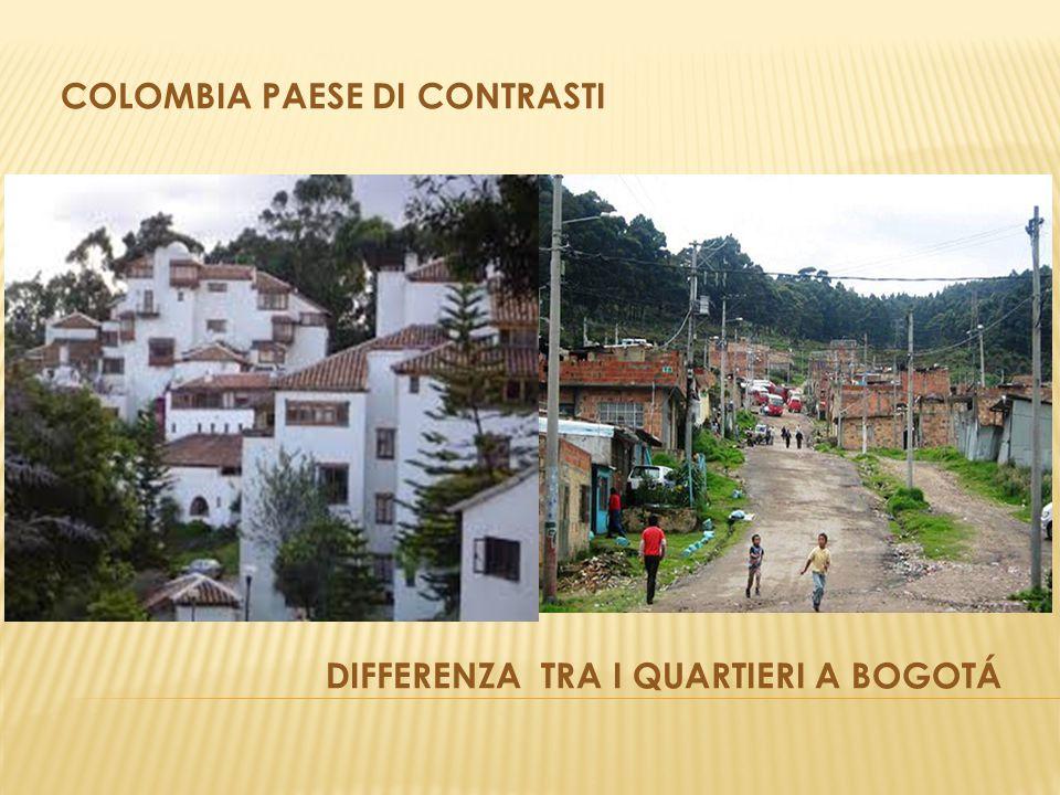 Colombia paese di contrasti