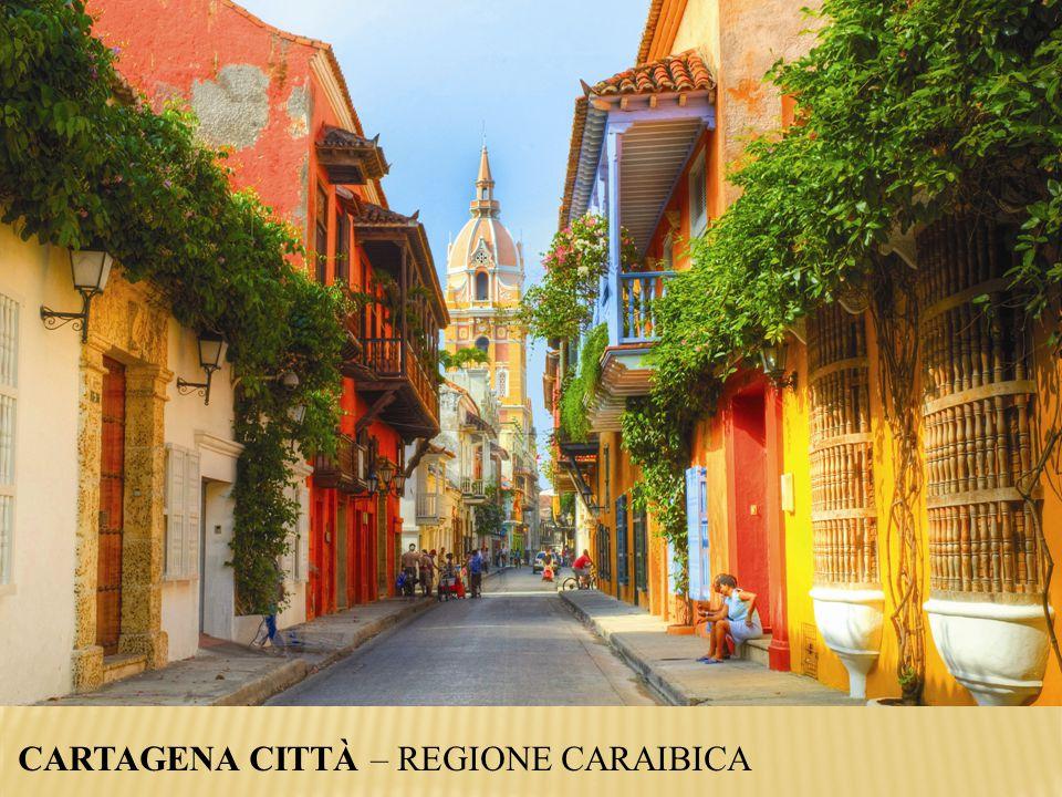 CARTAGENA CITTÀ – REGIONE CARAIBICA