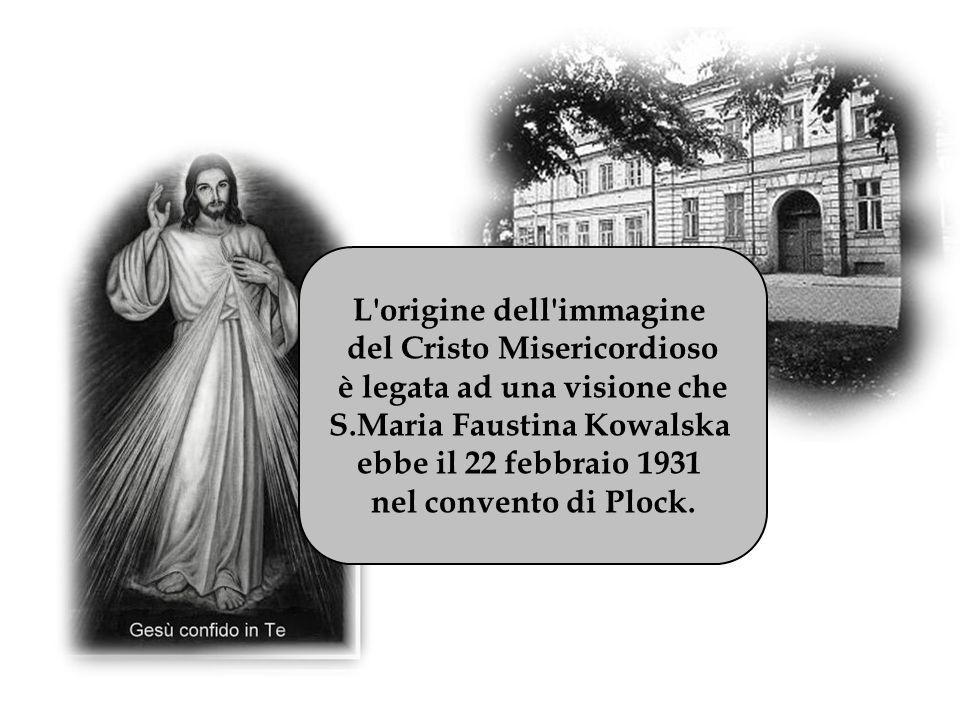 L origine dell immagine del Cristo Misericordioso