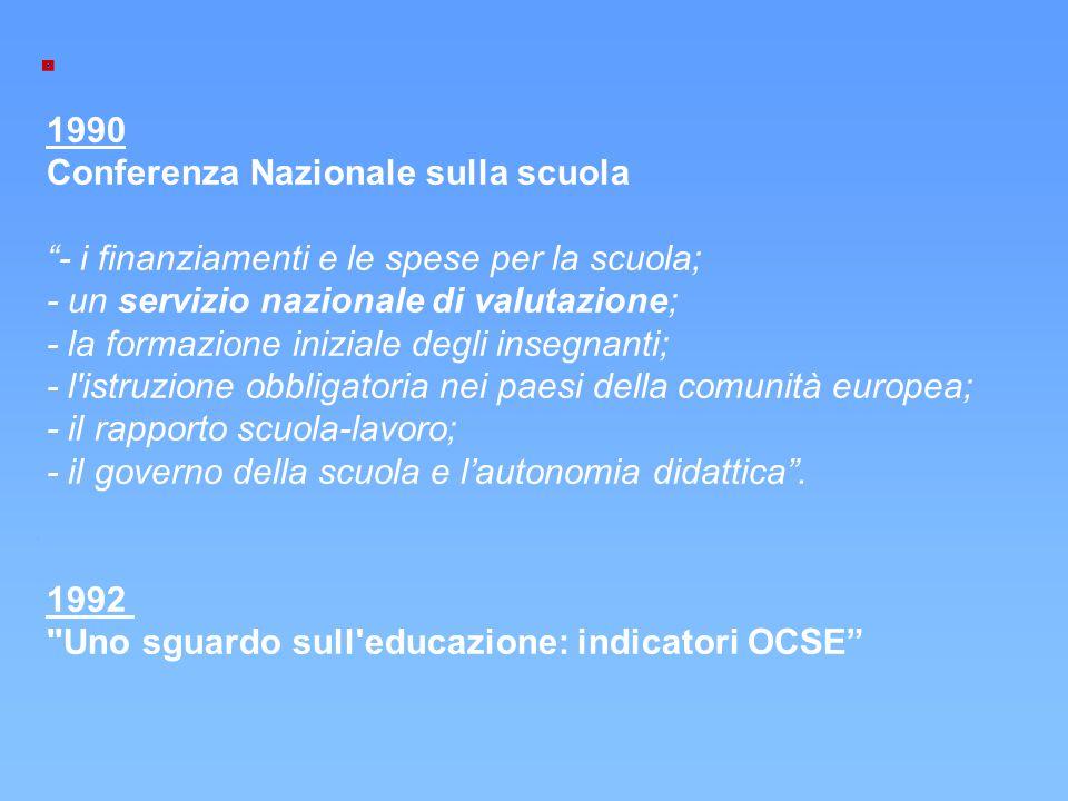 Conferenza Nazionale sulla scuola
