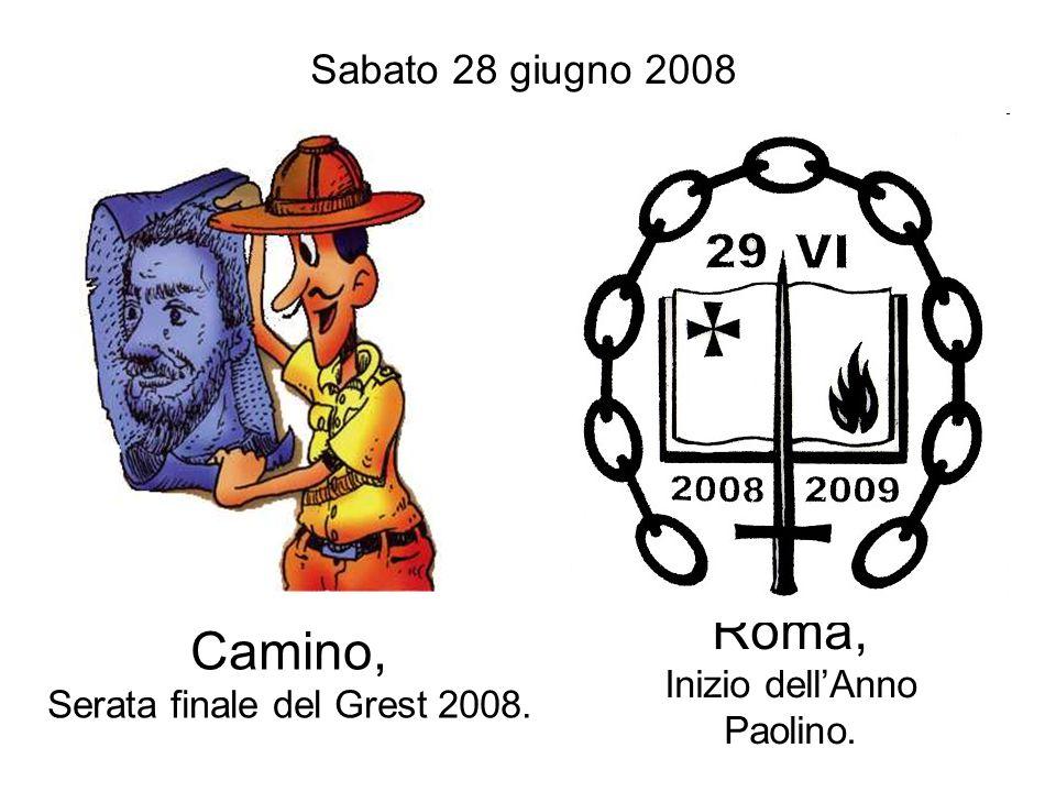 Roma, Inizio dell'Anno Paolino.