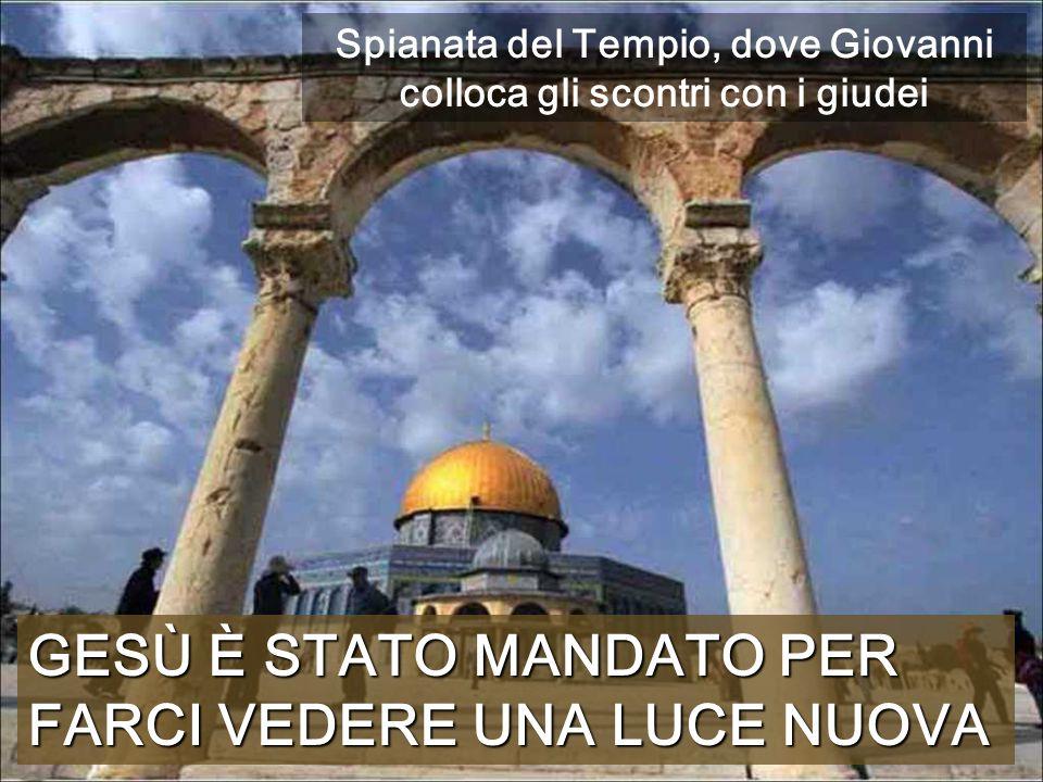 Spianata del Tempio, dove Giovanni colloca gli scontri con i giudei
