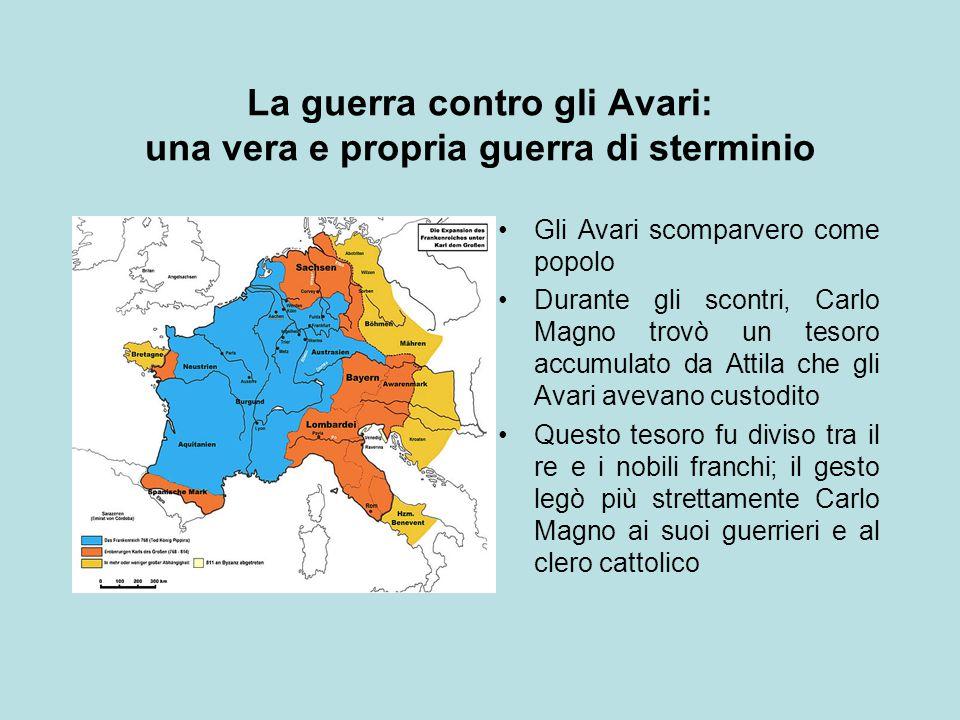La guerra contro gli Avari: una vera e propria guerra di sterminio