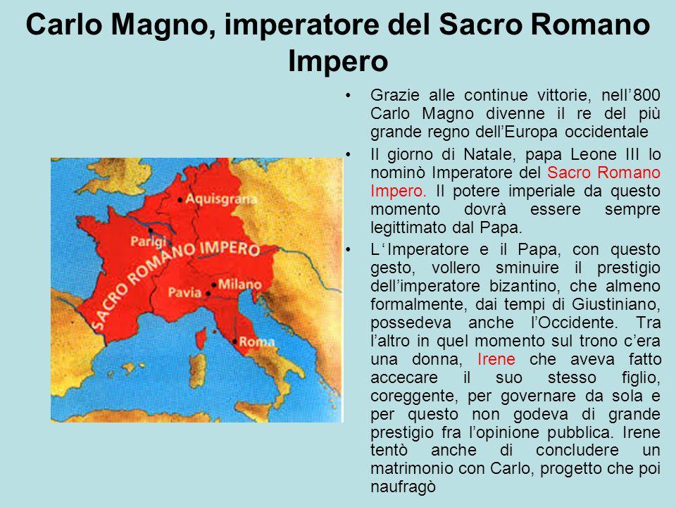 Carlo Magno, imperatore del Sacro Romano Impero