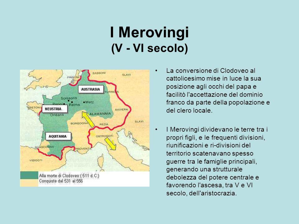 I Merovingi (V - VI secolo)