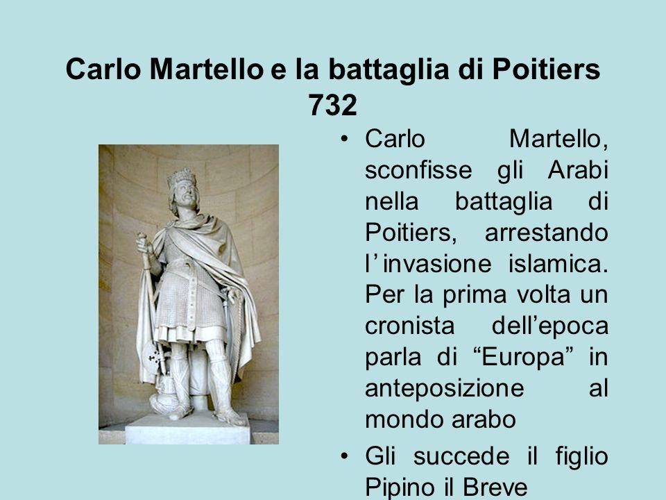 Carlo Martello e la battaglia di Poitiers 732