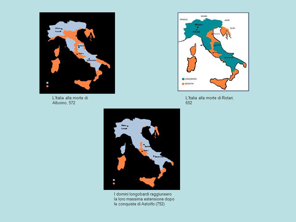 L'Italia alla morte di Alboino, 572