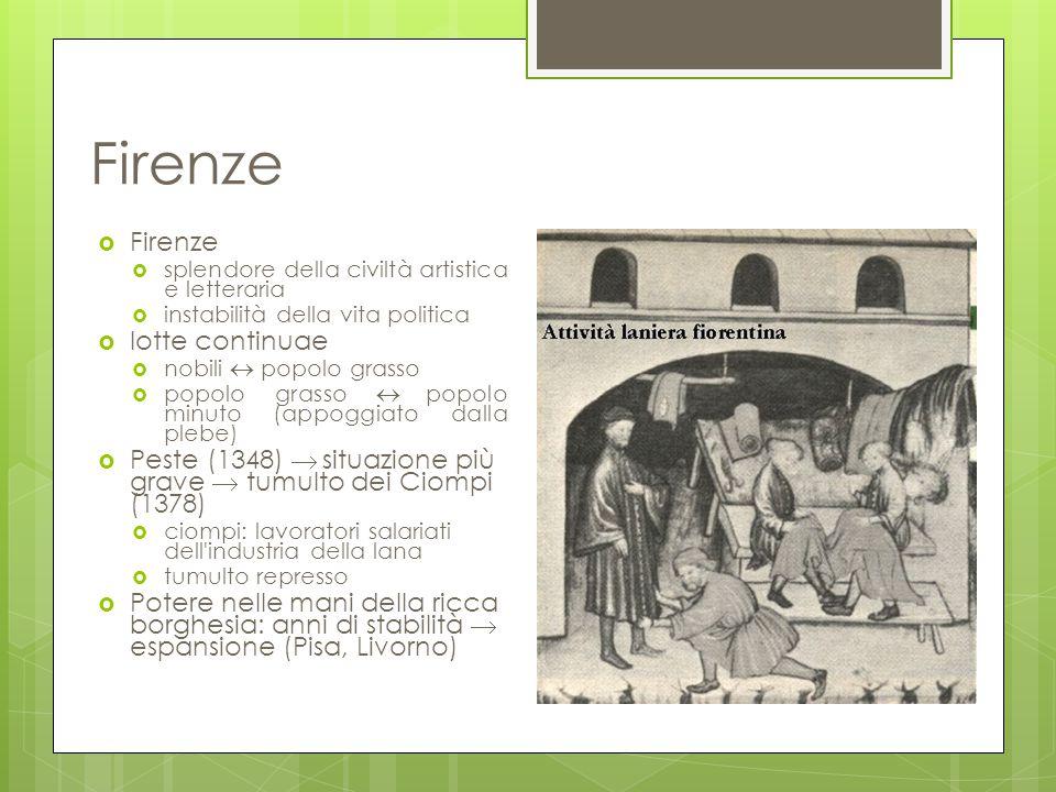 Firenze Firenze lotte continuae