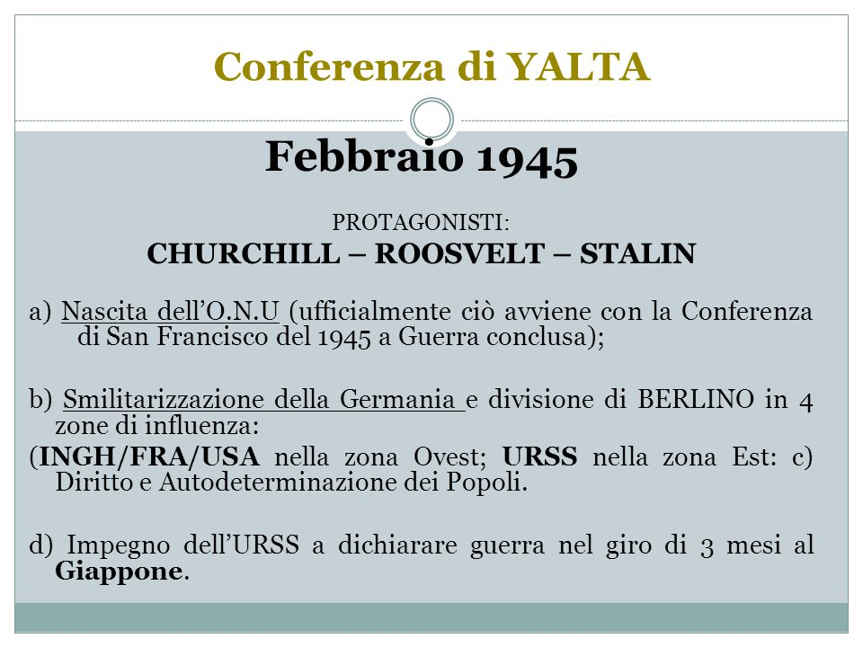 CHURCHILL – ROOSVELT – STALIN