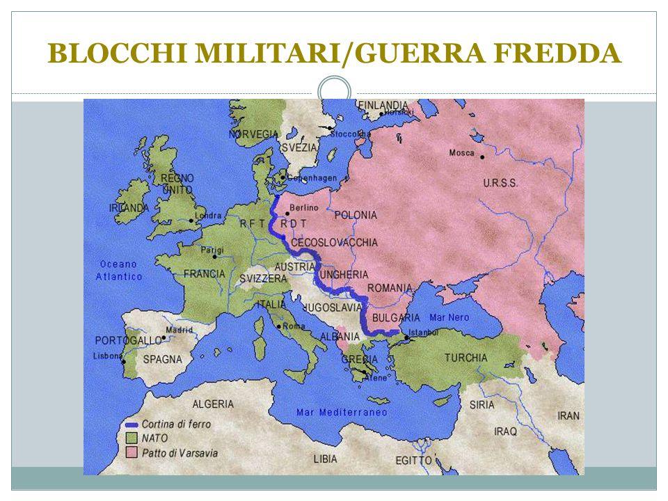 BLOCCHI MILITARI/GUERRA FREDDA