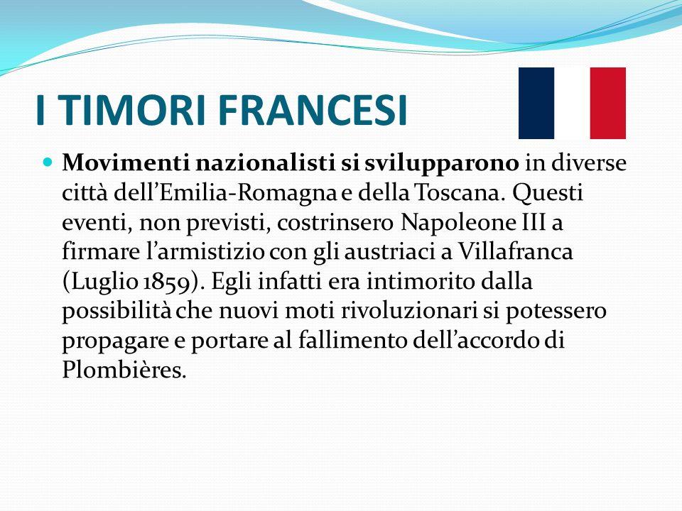 I TIMORI FRANCESI