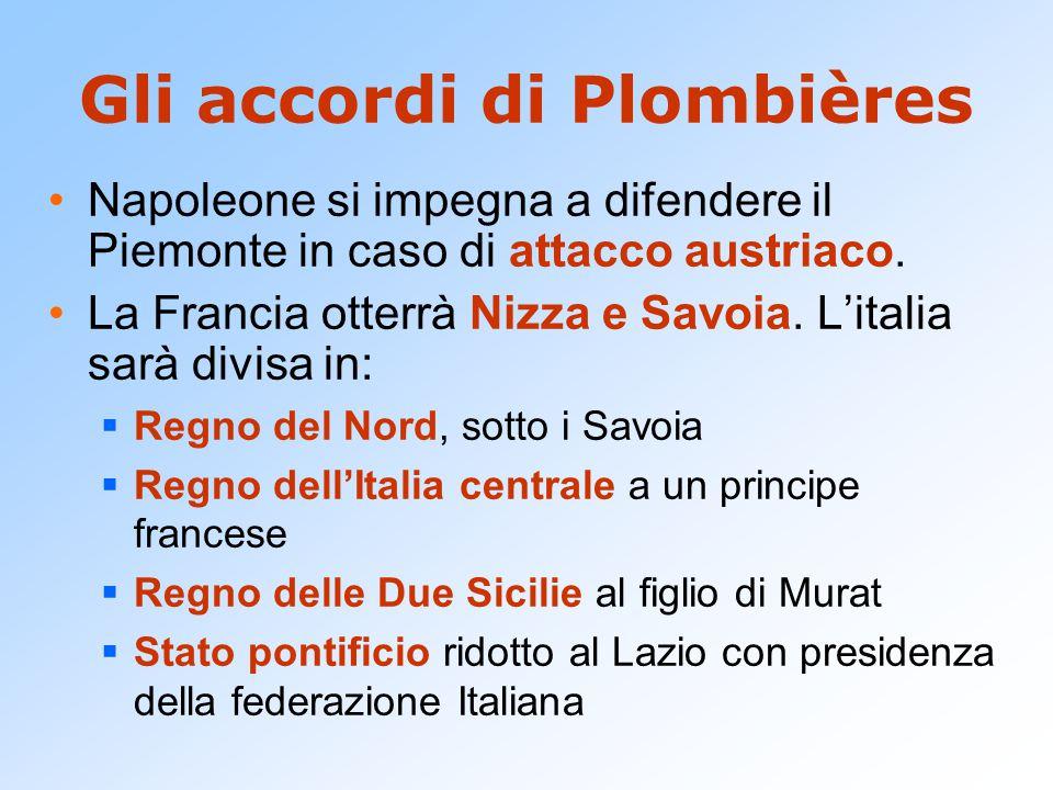 Gli accordi di Plombières