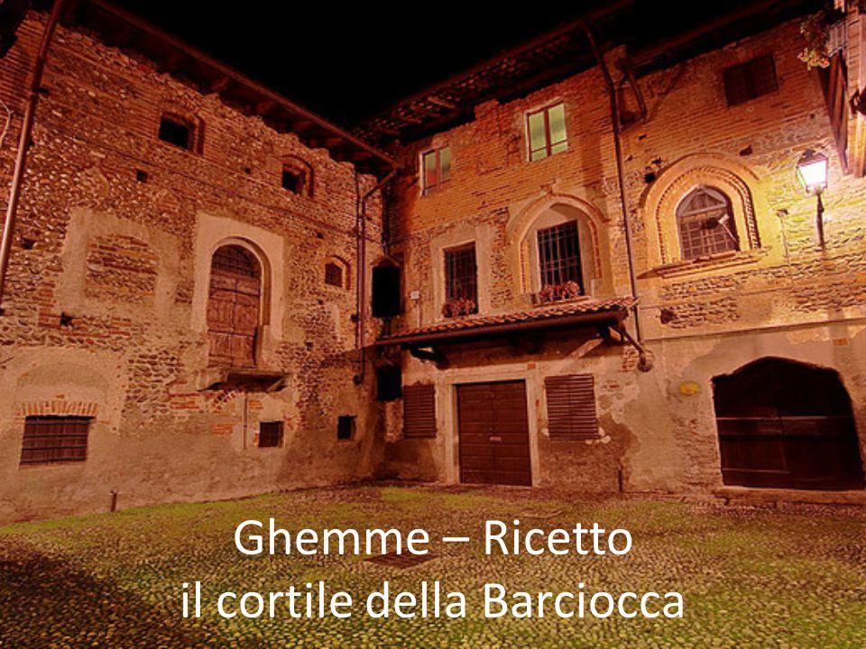 Ghemme – Ricetto il cortile della Barciocca