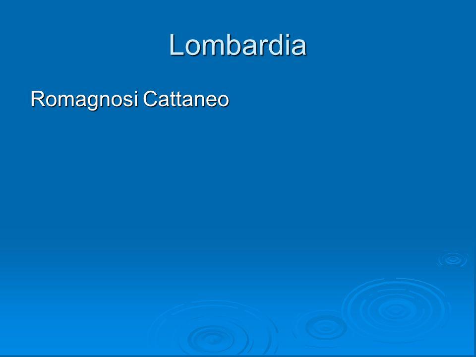 Lombardia Romagnosi Cattaneo