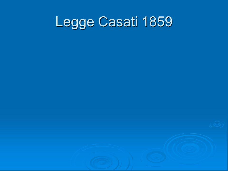 Legge Casati 1859