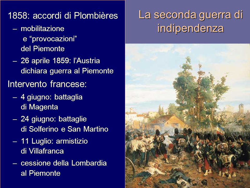 La seconda guerra di indipendenza