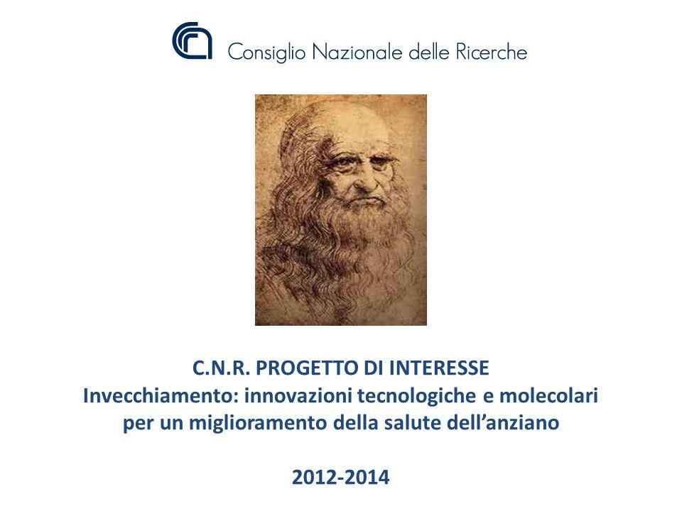 C.N.R. PROGETTO DI INTERESSE