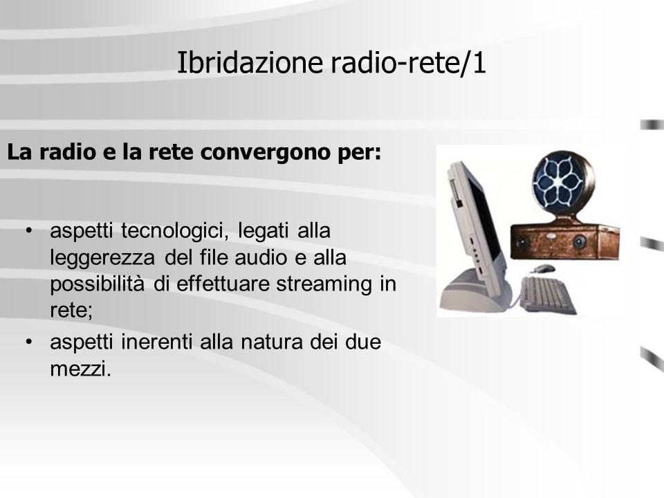 Ibridazione radio-rete/1