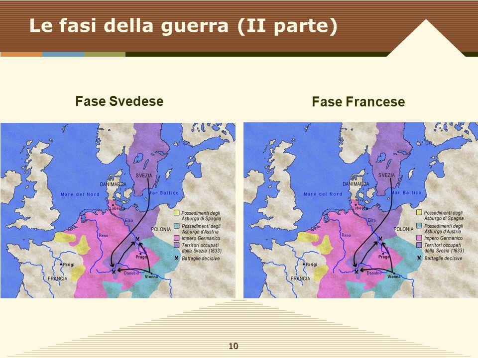 Le fasi della guerra (II parte)