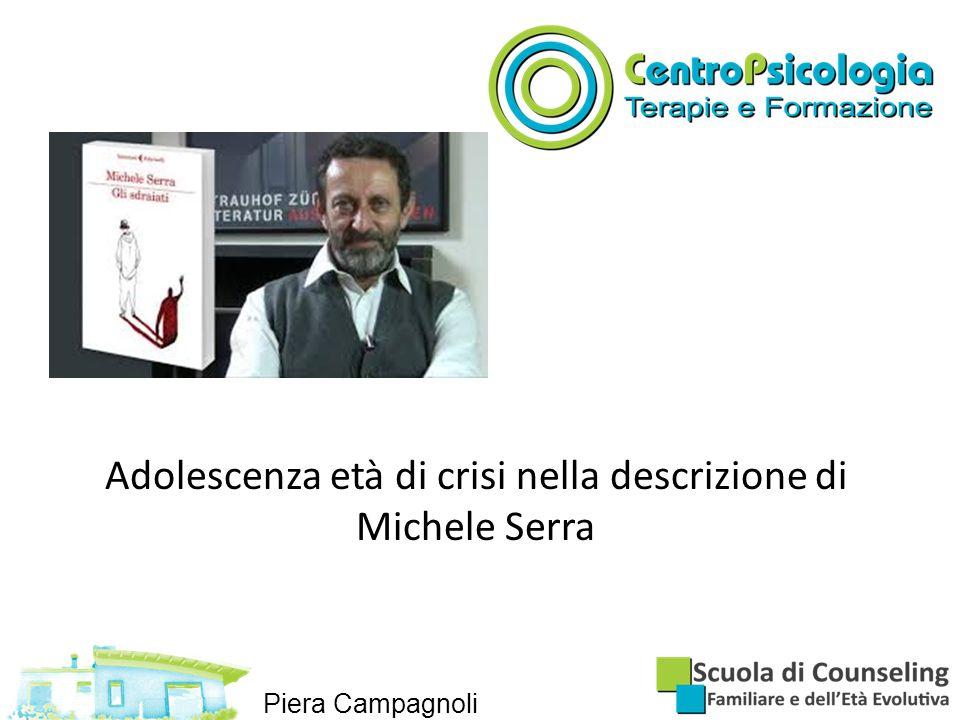 Adolescenza età di crisi nella descrizione di Michele Serra