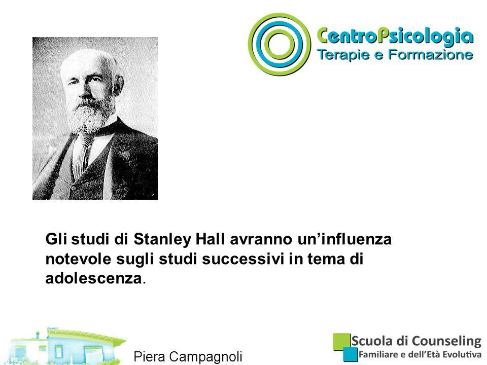 Gli studi di Stanley Hall avranno un'influenza notevole sugli studi successivi in tema di adolescenza.