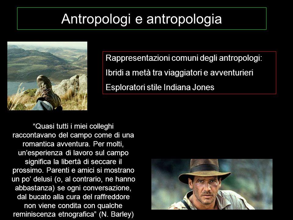 Antropologi e antropologia