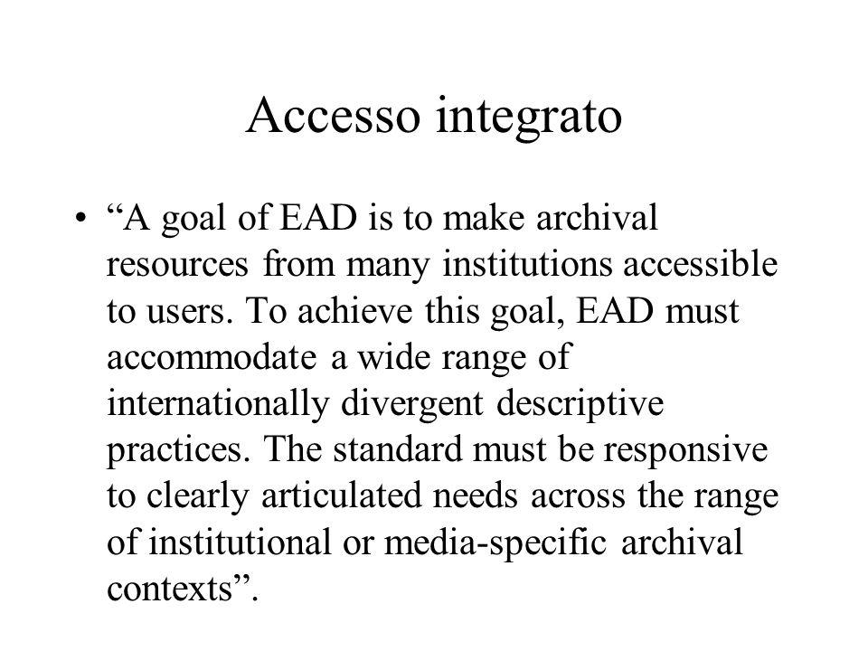 Accesso integrato