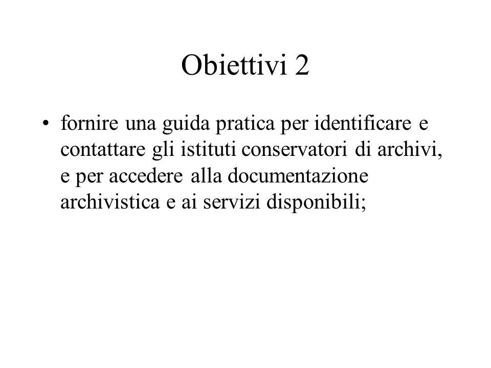 Obiettivi 2
