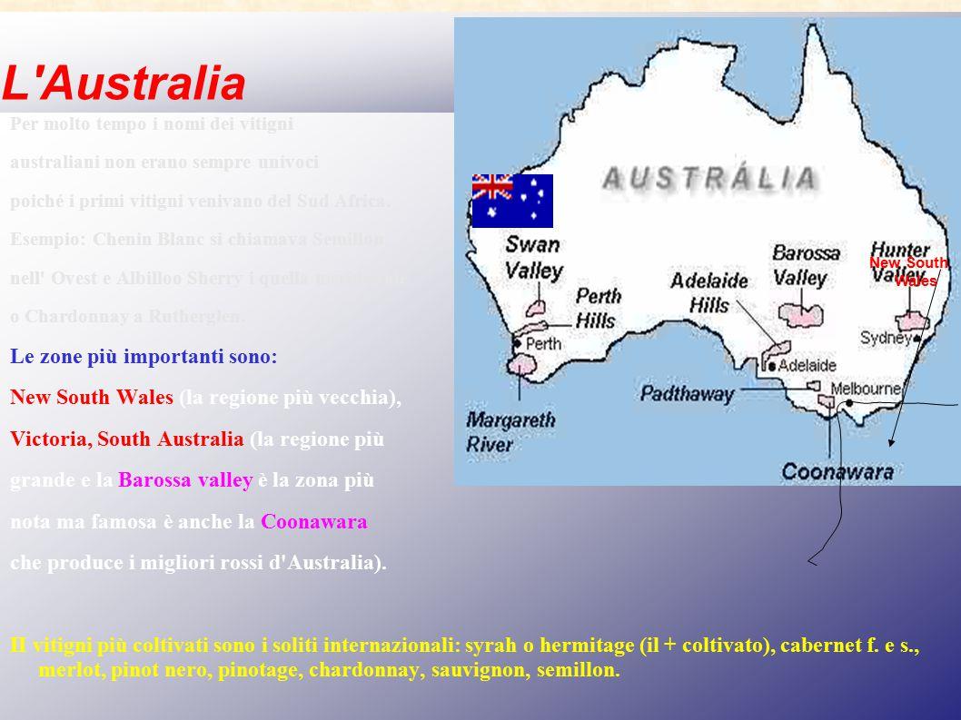 L Australia Le zone più importanti sono: