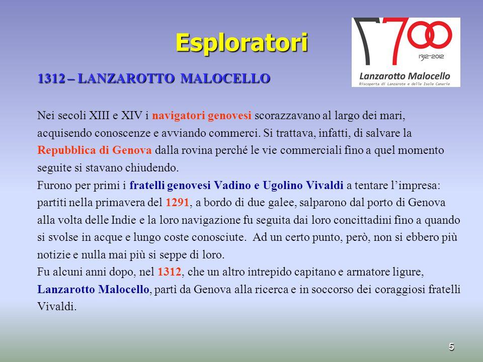 Esploratori 1312 – LANZAROTTO MALOCELLO