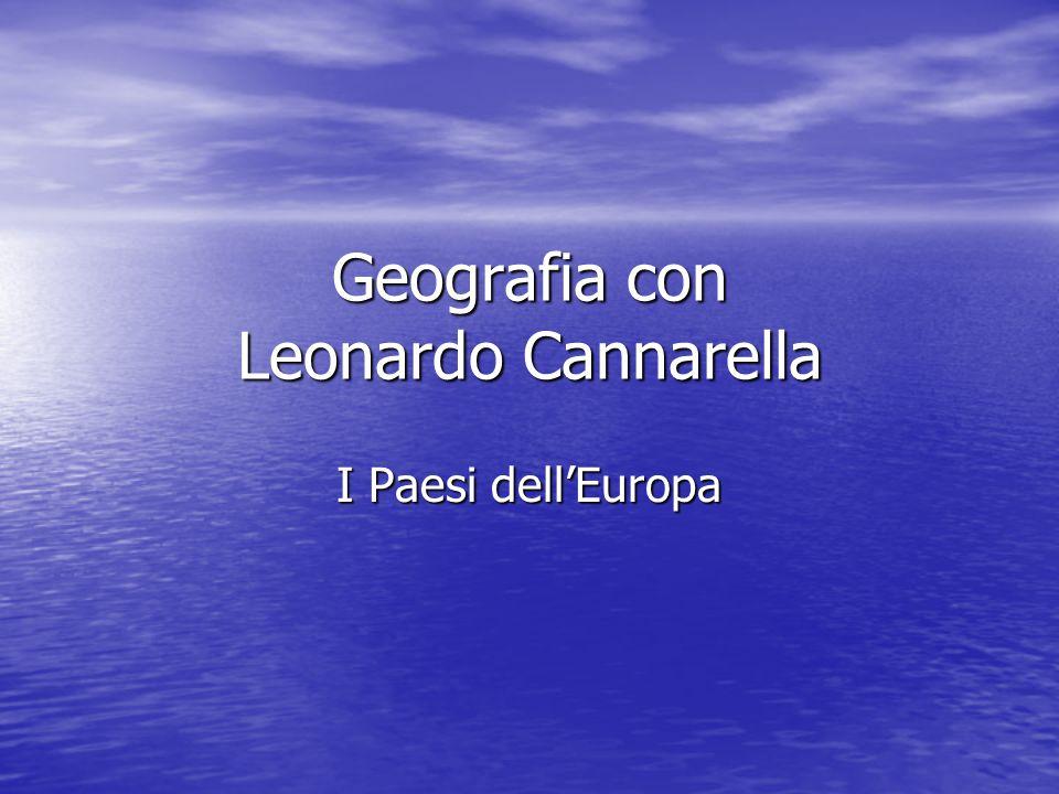 Geografia con Leonardo Cannarella