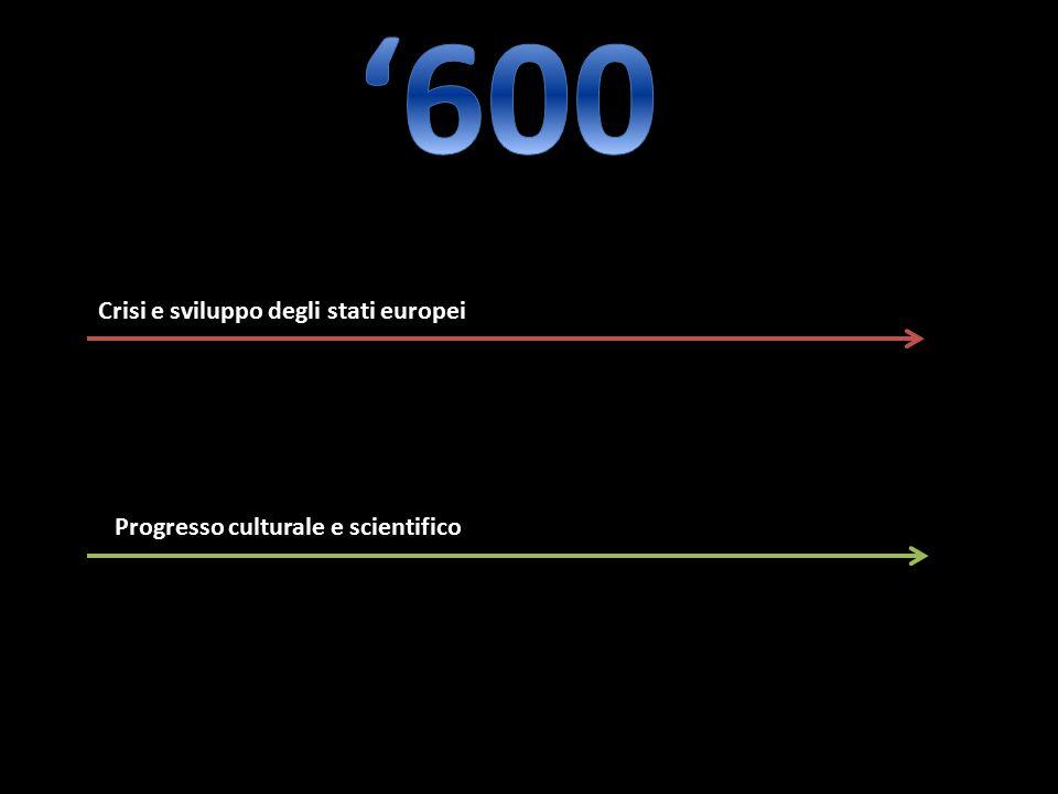 '600 Crisi e sviluppo degli stati europei