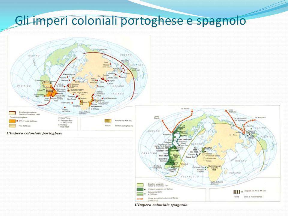 Gli imperi coloniali portoghese e spagnolo