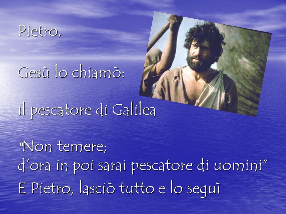 il pescatore di Galilea