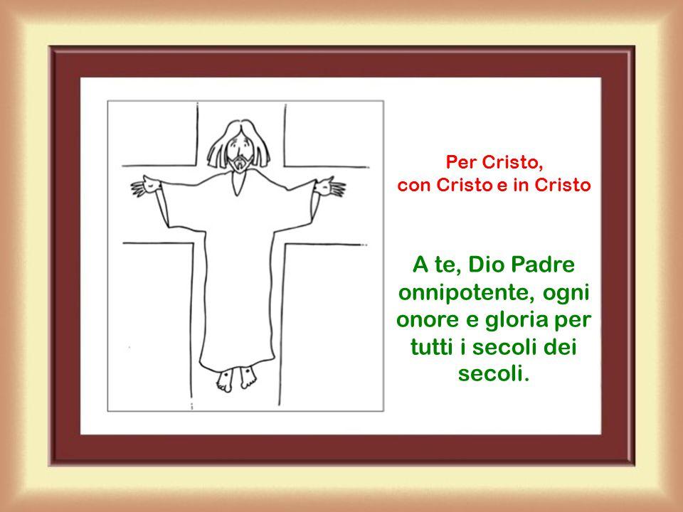 Per Cristo, con Cristo e in Cristo