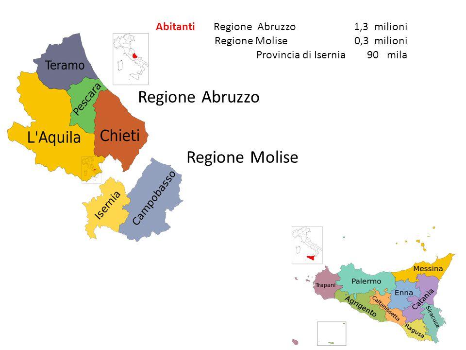 Regione Abruzzo Regione Molise